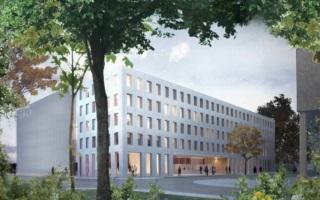 Paris-Saclay : le chantier de l�Institut Photovolta�que d�IDF est lanc�