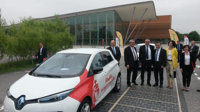 Colas expérimente en Vendée son revêtement routier photovoltaïque