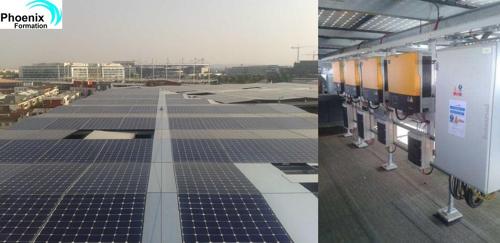 Phoenix Formation organise une session photovolta�que RGE QUALIPV BAT. en Savoie les 1, 2 et 3 avril prochains